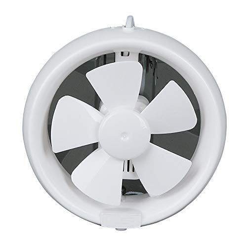 Extractor de humos para cocinas,Extractor de cocina campana extractor de baño,Ventilador extractor doméstico silencioso ventilador de cubierta baño cocina taller,White