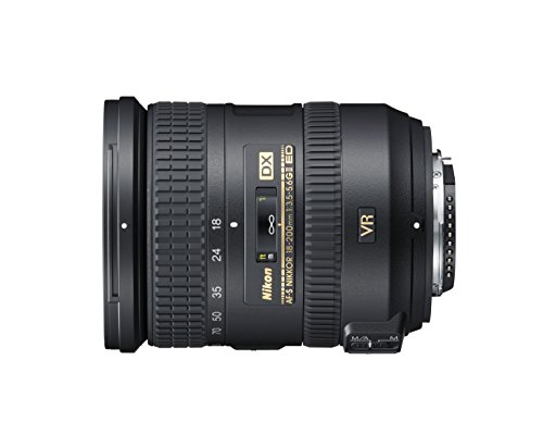 Nikon Obiettivo Nikkor AF-S DX 18-200 mm f/3.5-5.6G ED VR II,...