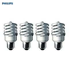 Energy efficient: Philips Indoor CFL Light Bulbs have an estimated dollar 1.57 estimated annual energy cost (based on three hours/day) Eco Friendly: These Philips PAR20 light bulbs use recycled glass and packaging material, reducing environmental imp...