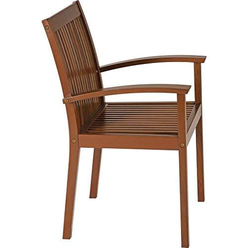 Cadeira Com Braços Tramontina 10833/076 Fitt Madeira Marrom