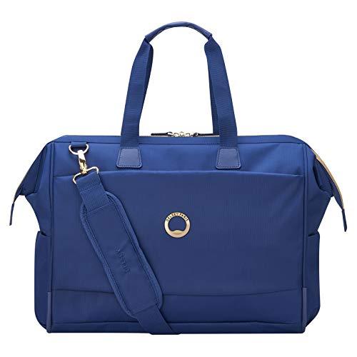 Delsey Paris MONTROUGE Sac bandoulière, 50 cm, 30,5 liters, Bleu (Blau)