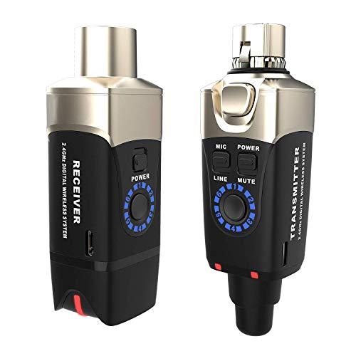 Xvive U3 Wireless Microphone System, Black