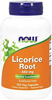 NOW Foods, Licorice Root 450mg 100 CAPS