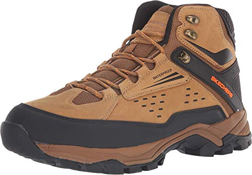 Skechers Men's POLANO-Norwood Hiking Boot, cml, 10 Medium US