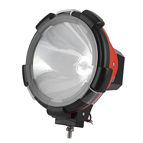 Faros Delanteros LED para Coche, 12V 200W 9in Faros Delanteros Xenon HID Universal ABS Focos para MTB SUV Automotriz Vehículo Todo Terreno IP67 Impermeable