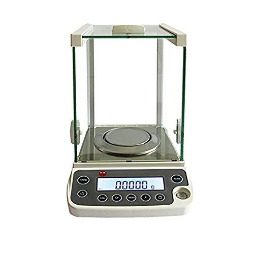 ZGUO Electrónico analítica equilibrio y precisión Digital escala 120g/0.1mg