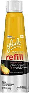 glade Expressions Fragrance Mist Refill, Pineapple and Mangosteen, 7 Ounce (Pack of 6)