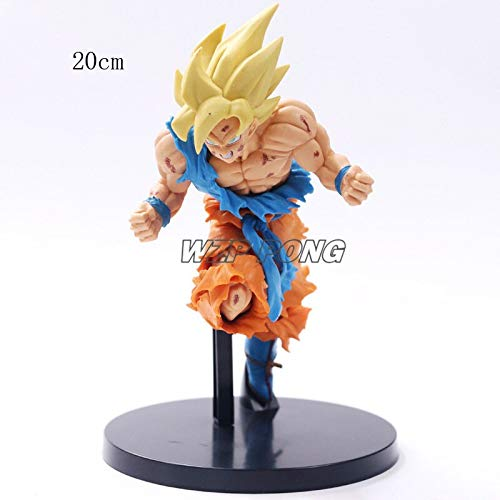 Anime Dragon Ball Z - Super Saiyan Kakarotto Goku Son Gohan - ver Action Figure PVC - Model Collection Kids Toys image