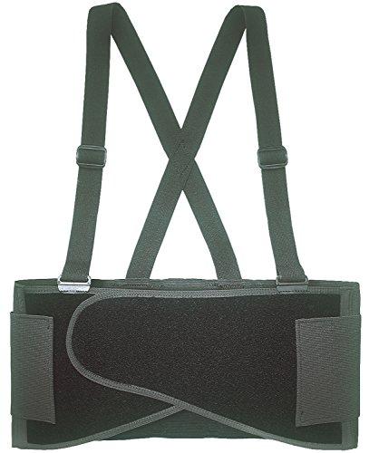 CLC Custom Leathercraft 5000L Elastic Back Support Belt Fits Waists, 38-Inch to 47-Inch, Large