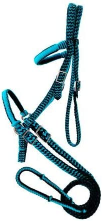 Showman Braided Nylon Lowest price challenge Outlet SALE Bitless Horse Bridle Reins with Size