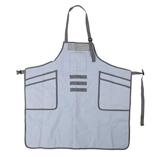 Changor Barbecue Grembiule, Multi-Tasca Tasche cucinando Cucina Pettorale Grembiule Insieme a Tela Cucina Grasso
