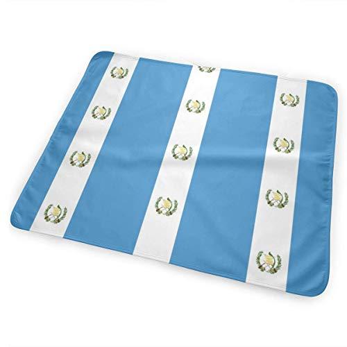 Guatemala Vlag Baby Draagbare Herbruikbare Verwisselbare Pad Mat 25,5 x 31.5