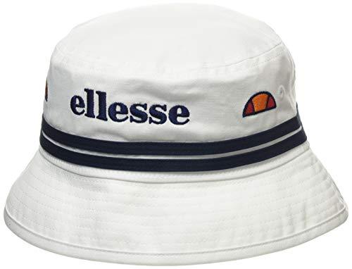 Ellesse Lorenzo Bucket Hat Sombrero, Unisex Adulto, White, Talla Única