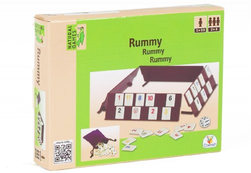 VEDES Großhandel GmbH - Ware Natural Games Rummy, 106 Pierres