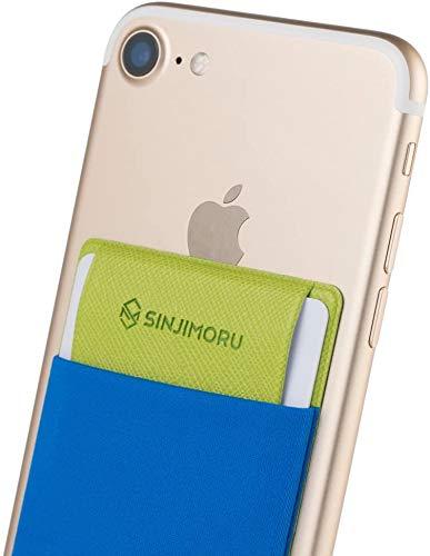 Sinjimoru iPhone Card Holder with Flap, Simple & Slim Wallet Functioning as...