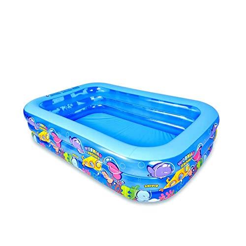 ZJING Innen- und Außen Bad Fässer, PVC Entertainment Pool, Kinder Ball Pool Paradise, aufblasbarer Faltbare Pool, einfach zu speichern Schaumbad Barrel,155cm