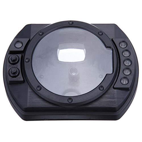 TOOGOO Motorrad Drehzahlmesser Tachometer Gauge Fall Abdeckung für Kawasaki Ninja Z1000 Z750 Zx10R 04 05 Zx6R 03-06