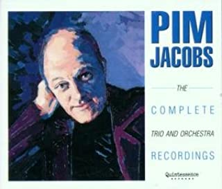 PIM JACOBS the complete trio and prchestra recordings