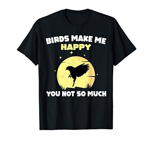 Regalo Divertido Pájaro Birdie Pájaro Propietario Camiseta