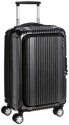 [バーマス] スーツケース ジッパー プレステージ2 フロントオープン 機内持ち込み可 60261 34L 49 cm 2.9kg ブラック