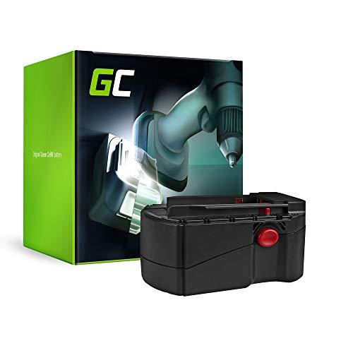 GC® (3Ah 24V Ni-MH) B24, B 24, B 24/2.0, B 24/3.0 Batería para Hilti SFL 24, TE 2-A, UH 240-A, WSC 55-A24, WSC 6.5, WSR 650-A, WSR650A, SW 650-A, WSW 650-A