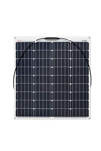 enjoy solar® ETFE Marine 80W 12V semiflexible Módulo solar celdas PERC ideal para caravana yate barco