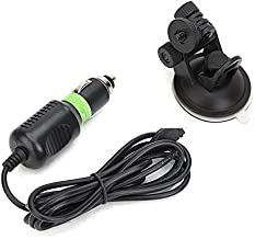 Suction Cup Bracket With 5V 1000mAh Car Charger For Gopro Hero 4 3 Mount SJ6000 SJCAM SJ4000 Action Camera Accessories