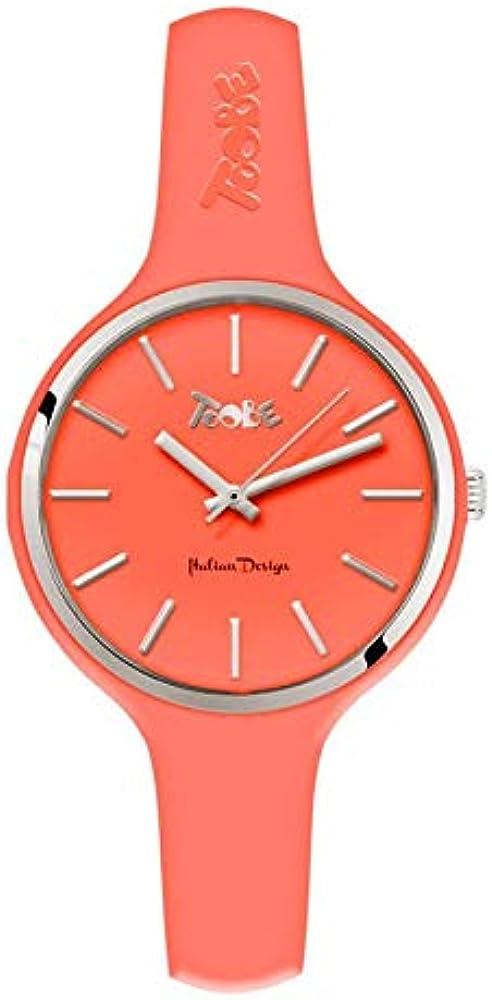 Boccadamo orologio per donna toobe ,la cassa È in metallo con il cinturino in silicone anallergico Mu010