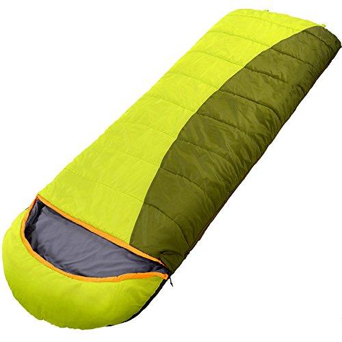 QFFL shuidai Enveloppe Sac de Couchage/Collectibles / Adultes/Camping Randonnée en Plein Air Épaissir Coton Rectangulaire Sac de Couchage (200 * 70cm) (Couleur : Bleu)