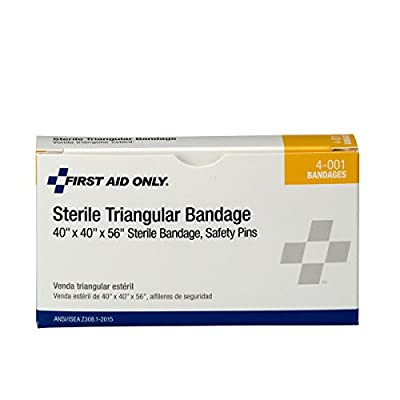 """Pac-Kit by First Aid Only 4-001 40"""" Sterile Triangular Bandage, Large from Acme United"""