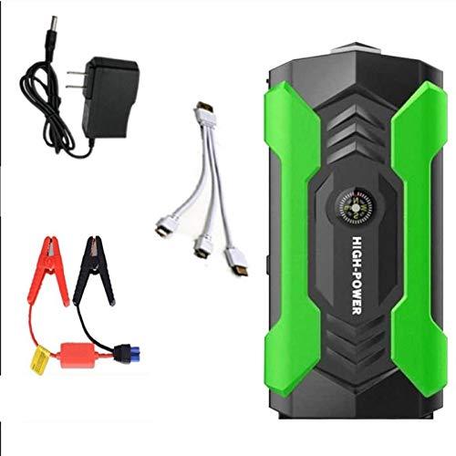 XBJSY Energía De Arranque De Emergencia para Automóvil, Cargador De Batería De Automóvil Inteligente De 20000 Mah Y Mantenedor para Automóvil, Motocicleta, RV Y Más QCDYLZ (Color : A)