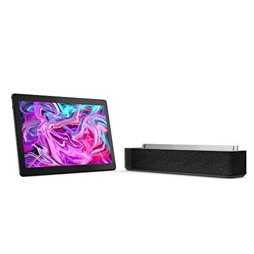 Tableta Lenovo Tab M10, 10,1 Pulgadas, FHD, Tableta con Alexa Smart Dock, Octa-Core 1,8 GHz, 3 GB RAM, 32 GB eMMC, Android Pie, Negro Pizarra