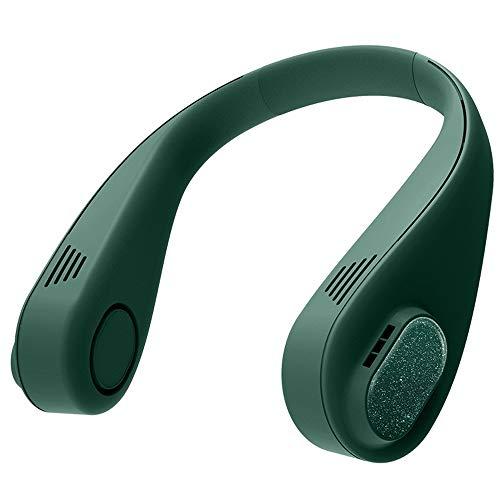 Ventilador Personal Portátil, Mini Ventilador De Manos Libres Mini Ventilador USB Recargable Ventilador De Banda para El Cuello ,3 Velocidades del Viento Super Largo Electrificado 11h