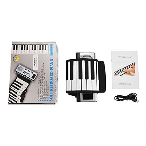 Piano, Rolling Up Piano 30 Canciones De Demostración 128 Tonos Para Niños, Niños, Principiantes