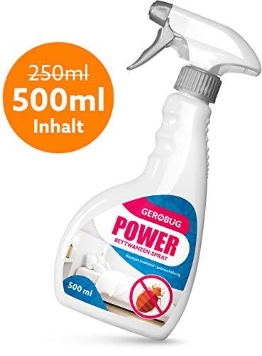 Anti Bettwanzen-Spray 500 ml zur Bettwanzen-Bekämpfung - Geruchloses Mittel gegen Bettwanzen - Support vom Experten