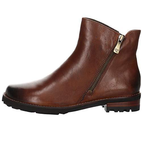 Everybody Damen Boots Misura Stiefelette Leder braun Gr. 37