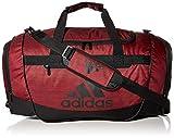 adidas Unisex Defender III Medium Duffel Bag, Legacy Red 2-Tone/Black, Medium