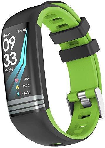 ZHENAO Fitness Tracker Smart Fitness Tracker Fitness Watch Pulsera Inteligente, G26S Impermeable Touch Bluetooth Bluetooth Smart Pulsera Fitness Tracker Sport Muñequera Deporte Fitn