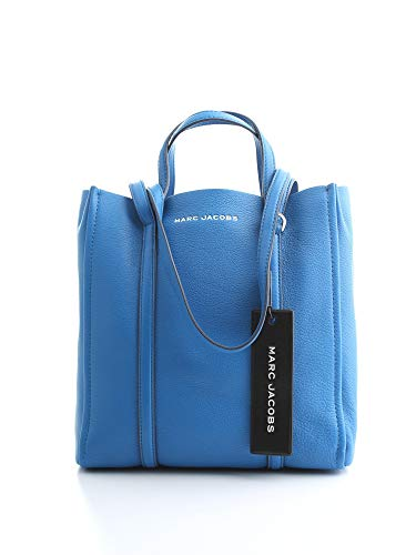 Marc Jacobs The Tag Tote Evening Blue One Size