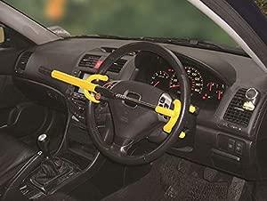 XtremeAuto  Anti-Theft Car Auto Steering Wheel Lock Heavy Duty 8 5 quot  13 75 quot