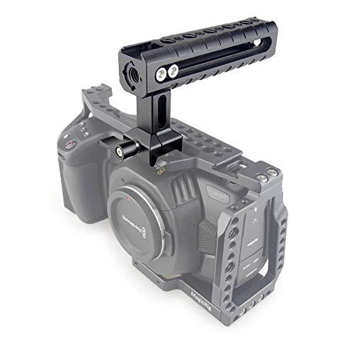 MAGICRIG クイックリリース NATOトップハンドル コールドシュー付き デジタル一眼レフカメラケージ用 カムコーダー用リグ用