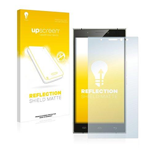 upscreen Entspiegelungs-Schutzfolie kompatibel mit Doogee F5 – Anti-Reflex Bildschirmschutz-Folie Matt