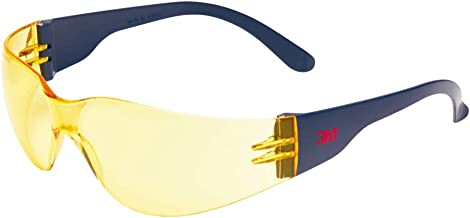 3M 2722 veiligheidsbril AS/AF/UV, polycarbonaat, getint geel