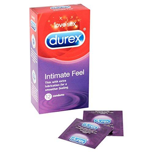 2 packs Durex Intimate Feel Condoms (12s) by Durex