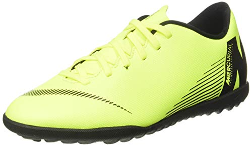Nike Vapor 12 Club TF, Zapatillas de fútbol Sala Unisex Adulto, Verde (Volt/Black 701), 41 EU