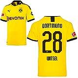 PUMA Borussia Dortmund BVB Heimtrikot 2019/20 Home Trikot Sponsor BL Logo Herren Axel Witsel 28 Gr XL