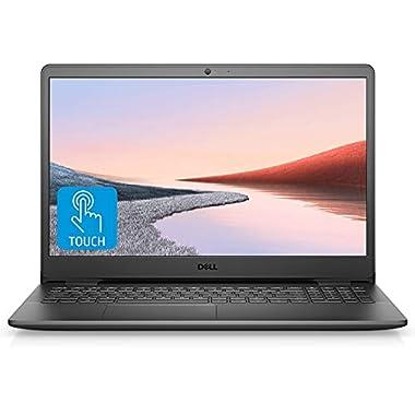 Dell Inspiron Laptop, 15.6″ FHD Touchscreen, Quad-Core AMD Ryzen 5 3450U Processor, 16GB RAM, 512GB SSD, Online Conferencing, Webcam, HDMI, Bluetooth, WiFi, Windows 10