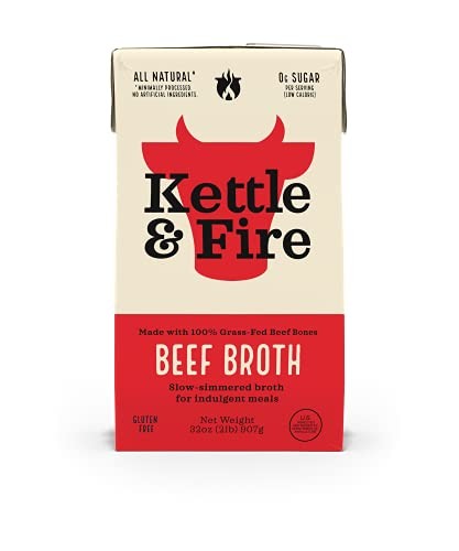 KETTLE & FIRE Beef Broth