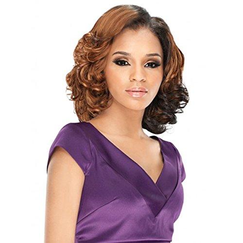 Galons de [3] Outre Purple Pack 3pcs Sea Wave WVG – Human Hair Blend Weave Extension