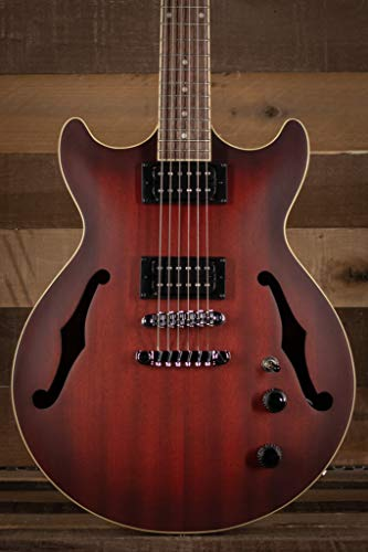 Ibanez Hollowbody Gitarre Artcore AM53-SRF Sunset Red Flat